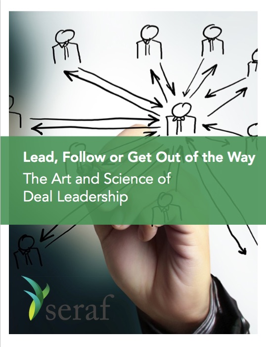 The Art and Science of Deal Leadership for Early Stage Investors
