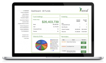 Seraf Fund Management Dashboard